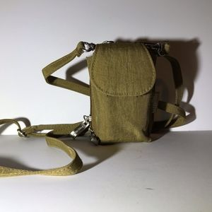 Baggallini Mini Crossbody Purse Khaki
